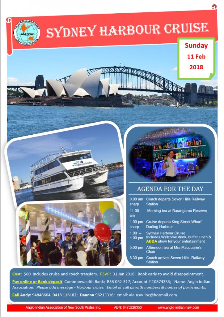Sydney Harbour Cruise - Feb 2018